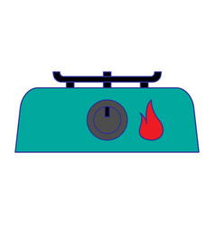 Stove vector