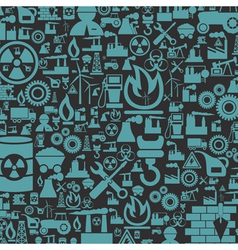 Background the industry2 vector image