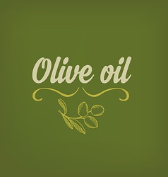 Olive oil design concept vector
