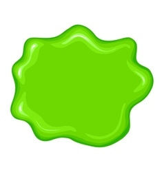 Best green slime sign vector