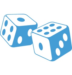 Dice illustration vector