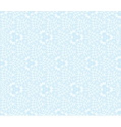 Seamless floral blue vector image vector image