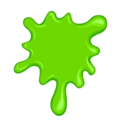 Green slime symbol vector