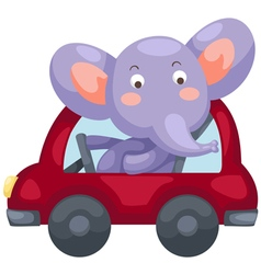 Cartoon elephant vector