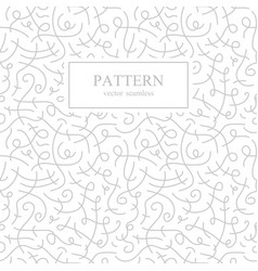 Curve seamless pattern retro fashion vector