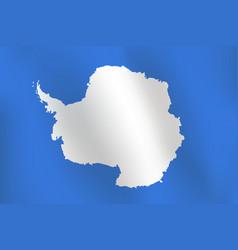 flag of antarctica - vector image