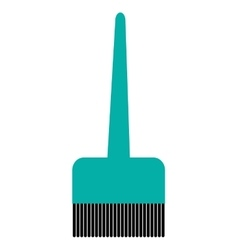 Hair dye brush icon vector