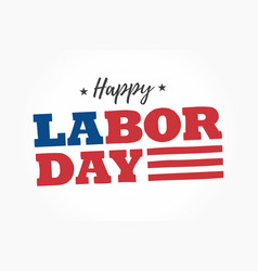 Happy-labor-day-logo vector