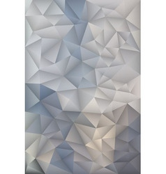 Polygonal Triangles Design Geometric Background vector image