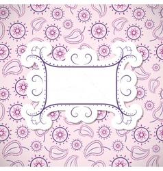 Retro Vintage Background vector image vector image