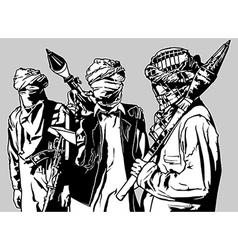 Terrorist group vector
