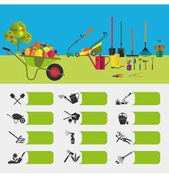 Gardening vector image vector image