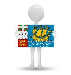 Saint Pierre and Miquelon vector image