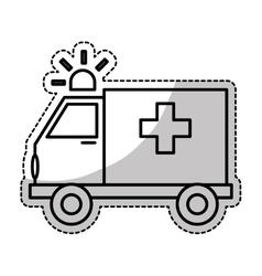 Ambulance icon image vector