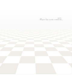 Tile floor with a perspective vector