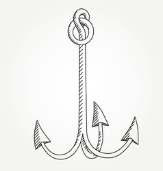 Anchor line icon symbol art variable line vector