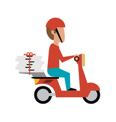 Food delivery icon image vector