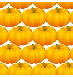 pumpkins seamless vector image