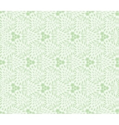 Seamless floral green vector image