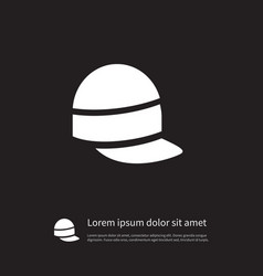 isolated accessory icon style element can vector image