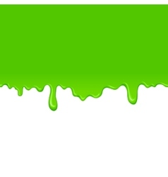Green slime background vector