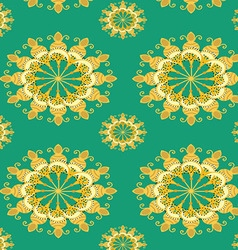 Background floral pattern vector