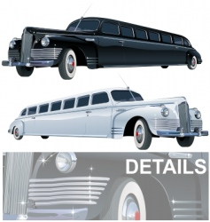 Stretch limos vector