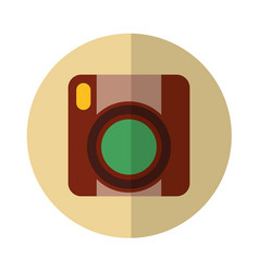 Video handycam isolated icon vector