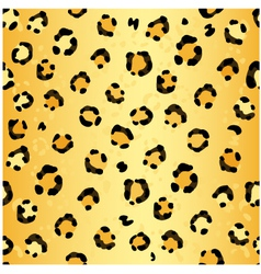 Seamless leopard pattern vector