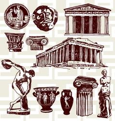 ancient Greece vector image