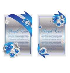banner cards vector image vector image