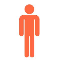 Man sign human icon men symbol vector