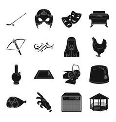 Park recreation sport weapons and other web vector