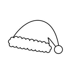 Santa claus xmas cartoon vector