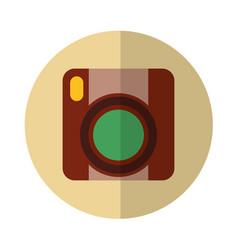Video handycam isolated icon vector