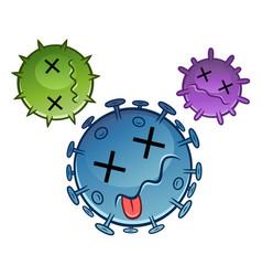 Dead viruses vector