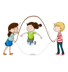 a kids vector image vector image