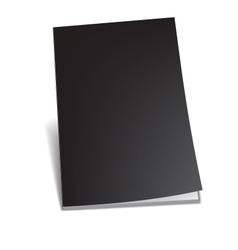 Empty brochure vector
