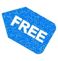 Free sticker grainy texture icon vector