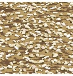 Gravel on earth seamless texturewallpaper pattern vector