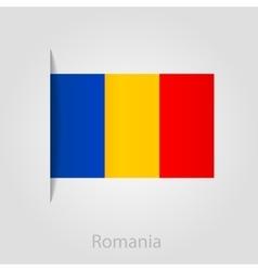 Romanian flag vector