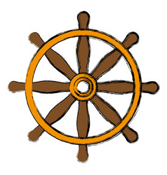 rudder icon image vector image