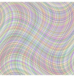 Wave line colorful background vector