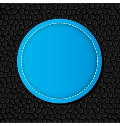 Circle banner background vector image