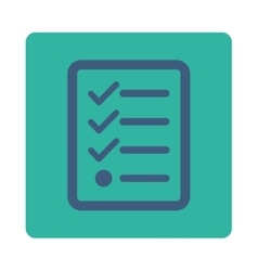 Checklist icon vector