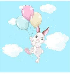 Birthday Bunny vector image