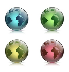 Planet earth stock vector