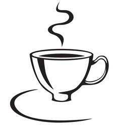 cofee cup vector image
