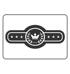 Champion belt icon 5 vector