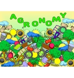 Agronomy vector